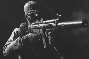 Ghost Recon Wildlands Monochrome Wallpaper