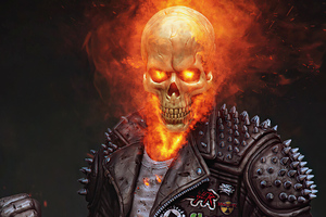 Ghost Rider 2020 4k Art Wallpaper