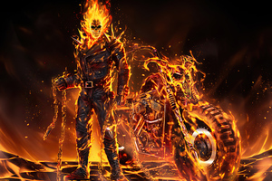 Ghost Rider 2020 Art Wallpaper