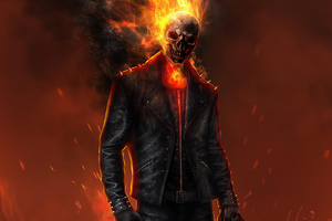 Ghost Rider 2020 Artwork 4k