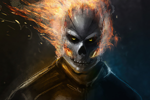 Ghost Rider 2020 Artwork Wallpaper