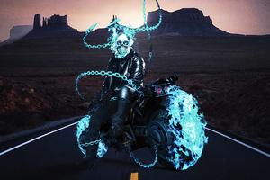 Ghost Rider 2099 4k