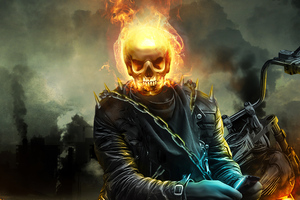 Ghost Rider 4k 2020 Artwork Wallpaper
