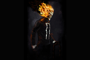 Ghost Rider 4k Art Wallpaper