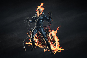 Ghost Rider 4k Arts Wallpaper
