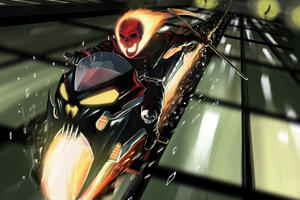 Ghost Rider Art New