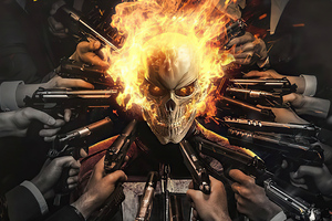 Ghost Rider Artwork 2020 Wallpaper