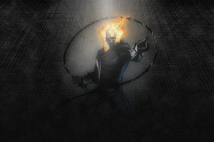 Ghost Rider Artwork 4k