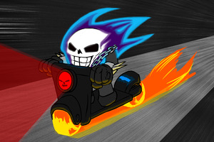 Ghost Rider Artwork 5k