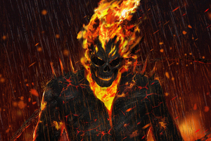 Ghost Rider Artwork HD Wallpaper