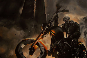 Ghost Rider Biker 2020 Wallpaper
