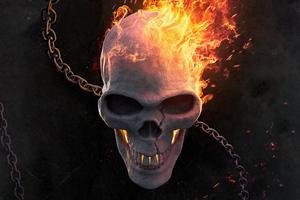 Ghost Rider Burning 5k