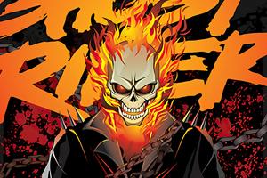 Ghost Rider Comic Poster 4k Wallpaper