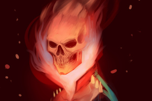 Ghost Rider Digital Art