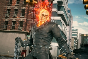 Ghost Rider Marvel Vs Capcom Infinite