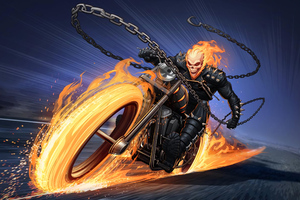 Ghost Rider Superhero Wallpaper