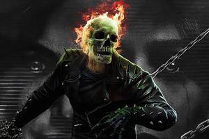 Ghost Rider X Wanda Vision