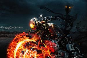 Ghost Skull Rider 4k Wallpaper