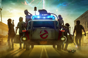 Ghostbusters Afterlife 2021 Wallpaper