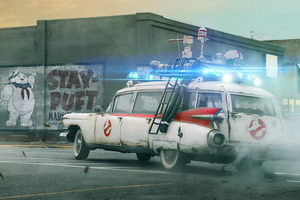 Ghostbusters Afterlife Movie 2021 Wallpaper
