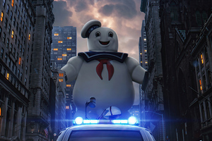 Ghostbusters Fanmade Poster Wallpaper