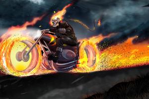 Ghostrider On Bike 5k