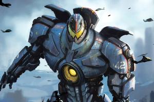 Giant Robot Pacific Rim