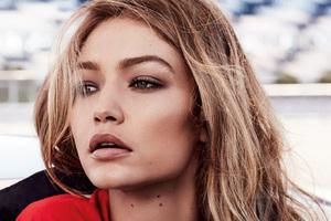 Gigi Hadid Closeup Photoshoot