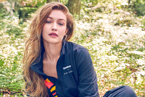 Gigi Hadid Reebok 2019 Photoshoot Wallpaper