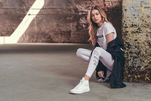 Gigi Hadid Reebok Be More Human 2018