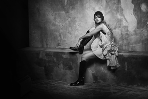 Gigi Hadid Vogue Arabia 2019 Wallpaper