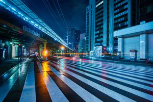 Ginza Tokyo Around Midnight 5k Wallpaper