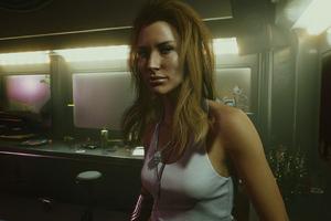 Girl Cyberpunk 2077 4k