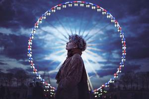 Girl Ferris Wheel Photography