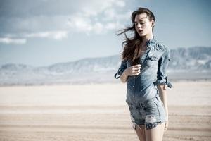 Girl Formal Shirt Shorts 4k Wallpaper