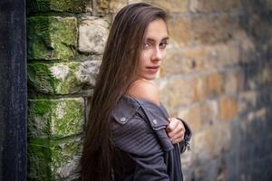 Girl Model Outdoors Wallpaper