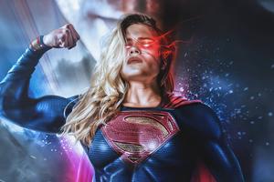 Girl Of Steel Supergirl Wallpaper