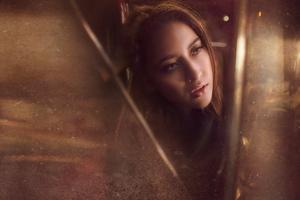 Girl Portrait Closeup 4k Wallpaper