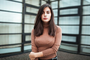 Girl Portrait Depth Of Field