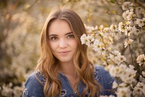 Girl Portrait Smiling 5k Wallpaper
