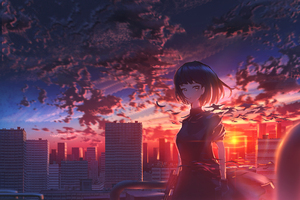 Girl Scenery Original Anime