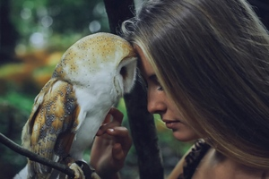 Girl With Owl