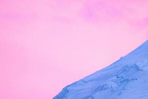 Glacier And Sky 4k