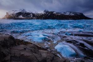 Glacier Island Wallpaper
