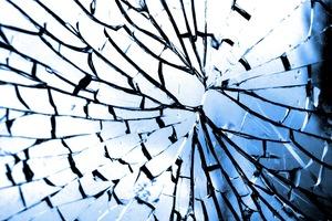 Glass Crack Broken Glass