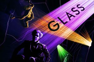 Glass Movie Fan Poster Wallpaper