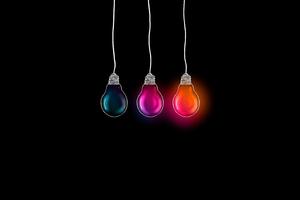 Glowing Bulb 5k Wallpaper