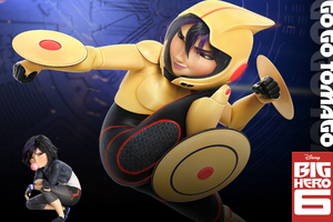 Go Go Tomago In Big Hero 6 Wallpaper