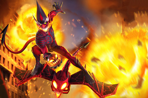 Goblin As Carnage In Marvel Contest Of Champions 4k