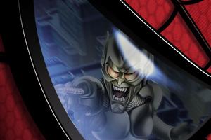Goblin Spiderman Eye